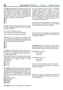 M2A04 - Alelos letais