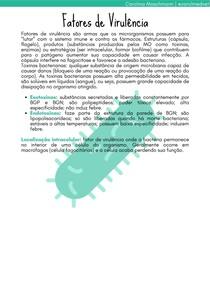 Fatores de Virulência   Agressão e Defesa em Medicina Veterinária I