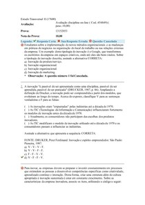 Estudo Transversal II