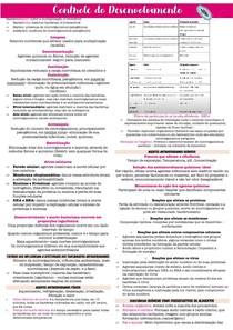 CONTROLE DO DESENVOLVIMENTO BACTERIANO
