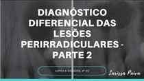 diagnóstico diferencial das lesões perirradiculares - PARTE 2