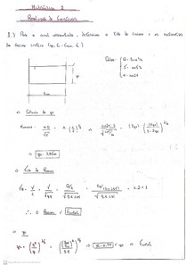 Exercícios resolvidos de canais (Hidráulica)