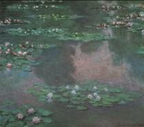 Water Lillies I-Claude Monet