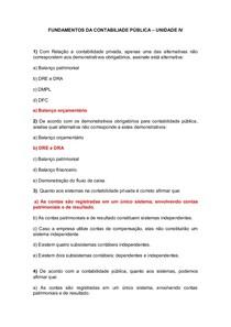 FUNDAMENTOS DA CONTABILIDADE PÚBLICA   uol 5