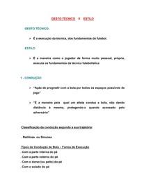Técnicas - Metodologia do Ensino do Futebol e Futsal 2cae6f9cce24f