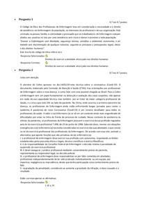 A1 - Ética e Profissionalismo em Enfermagem