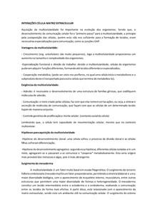 resumo INTERAÇÕES CÉLULA MEC