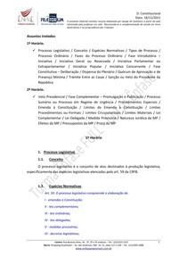 Resumo Direito Constitucional   Aula 12