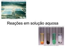 Aula 02 Reações em solução aquosa