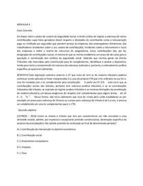 WEB 4 DE  DIREITO TRIBUTÁRIO E FINANCEIRO I