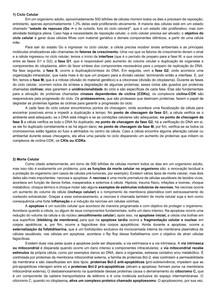 Resumo citologia parte 3