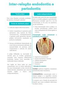 Inter-relação endodontia e periodontia