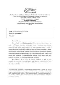 ad1 de literatura na formação do leitor 2017.2