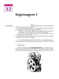 DESENHO MECANICO CAP 32 - Engrenagens PARTE 1