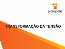 TRANSFORMAÇÃO DA TENSÃO NO PLANO   AULA