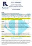 QUESTIONÁRIO   COMUNICAÇÃO ORGANIZACIONAL E SISTEMAS DE INFORMAÇÃO GERENCIAL