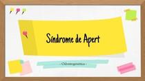 ODONTOGENÉTICA - SINDROME DE APERT