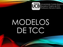 Aula 3_Modelos de TCC