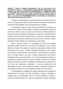 Prova - Processo Seletivo Mestrado UNILA Relações Internacionais [2021]