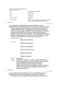 Futebol Questionario 1 2 3 Educacao Fisica 5