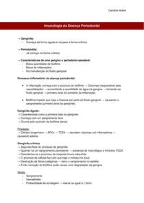 Imunologia da Doença Periodontal