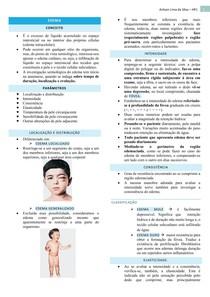 Para exame edema médico