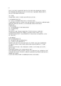 PROGRAMA DE NECESSIDADES DE UM SHOPPING