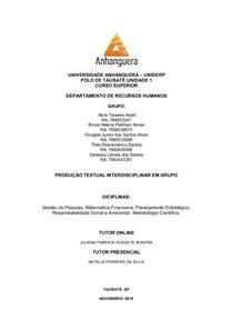 PROD. TEXTO  EM GRUPO 2° semestre
