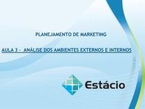 Aula_03  - Planejamento de Marketing.