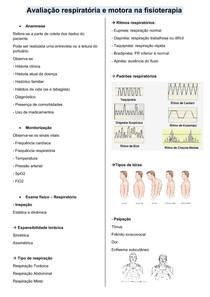 Avaliação respiratória e motora na fisioterapia