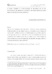artigo Henrique Lana 10 anos lei falências