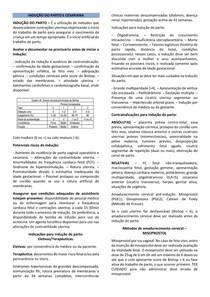 INDUÇÃO DO PARTO E CESARIANA