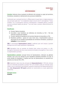 ENDÓCRINO - Hipotireoidismo