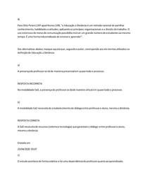Conceitos e Evolução Histórica da Educação a Distância