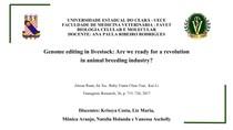 BIOLOIA CELULAR E MOLECULAR/ Edição de genoma na pecuária: estamos prontos para uma revolução na indústria de criação de animais?