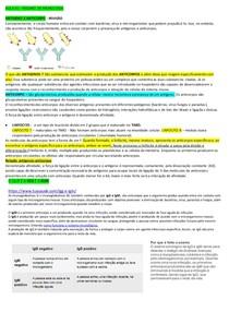 RESUMÃO - IMUNOLOGIA CLINICA