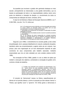 GESTÃO ESCOLAR DEMOCRÁTICA-PARTICIPATIVA