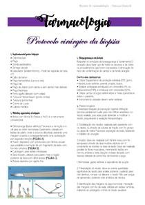 Estomatologia - Protocolo cirurgico de biópsia