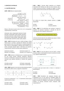 Lista 04   Exercícios   Isomeria Plana   Química I   Sem Gabarito