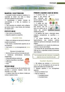 Patologia do sistema imunológico