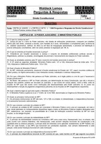 WL-P & R-04-Direito Constitucional-08-O Poder Judiciário - O Ministério Público-009