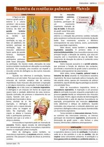 Dinâmica da ventilação pulmonar - FISIOLOGIA