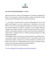 Aula 5 - Bento Teixeira e Pe Antônio Vieira