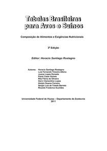 TABELAS BRASILEIRAS - AVES E SUINOS 2011