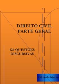 124 questões de Direito Civil - Parte Geral