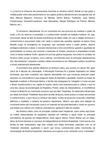 Teoria Sociológica Clássica: Questionário