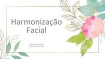 slide harmonização facial- cosmetologia