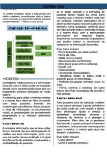 avaliação pre operatoria