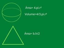 Esfera e triangulo
