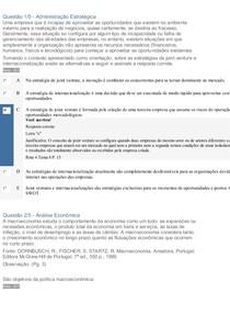 APOL 3 ANALISE ECONOMICA E ADMINISTRAÇAO ESTRATEGICA